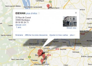 Google maps idewan
